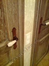 Окраска дверей дубовых