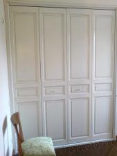 Окрасить фасад шкафа