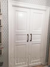 Реставрировать двустворчатые сталинские двери