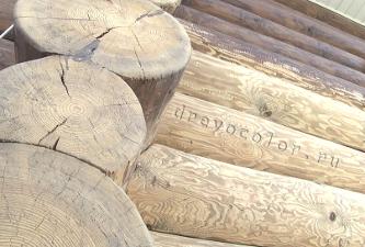 Качественная подготовка деревянного дома к покраске