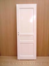 ручная окраска двери