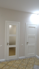 дубовые двери после окраски