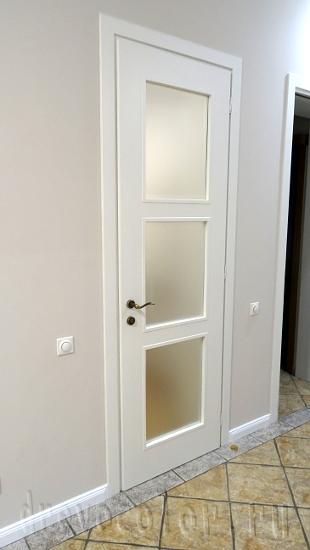 перекраска дверей в белый цвет отремонтировать и покрасить