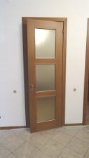 дубовая дверь перед покраской