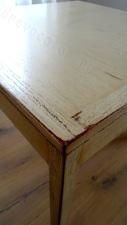 Оформление столика под старину