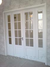 четырёхпольная дверь установка