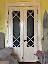 Дверь на «Котельнической набережной» до реставрации