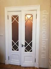 Дверь на «Котельнической набережной» после реставрации