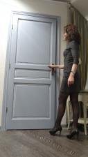 Проверка качества реставрации двери