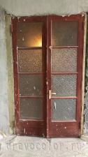 Сталинская дверь до реставрации
