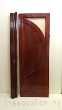реставрация дубовой двери